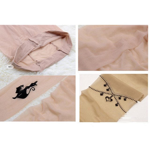 Hot New Fashion Sexy Tights Stockings Transparent Ladies Girl Women Pantyhose tights WA021 4