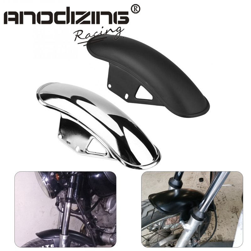Motorcycle Front Fender Splash Wheel Extension Mud Flap Guard Fairing Mudguard Cover For Suzuki GN125 GN 125 GN250 GN 250