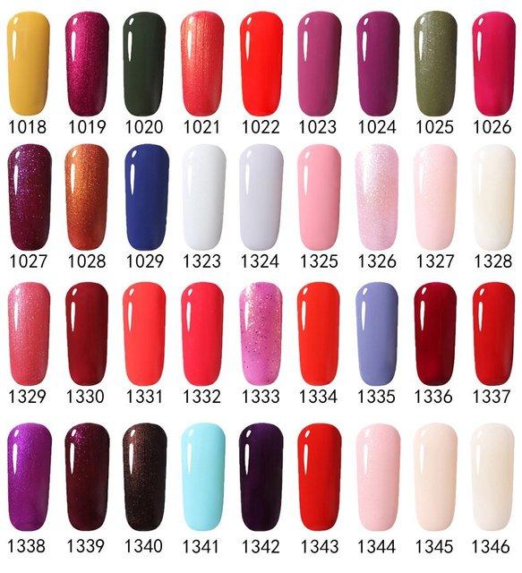 Фото беспроигрышный цветной лак для ногтей гель 7 мл уф гель чистый цена