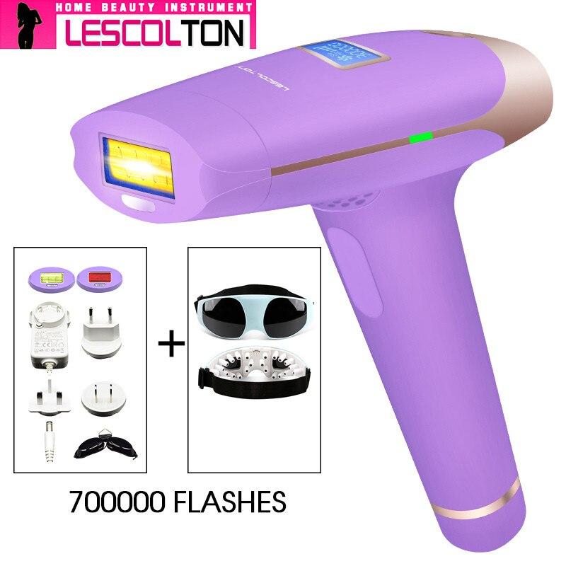 IPL Laser Epilator Håndholdt Laser Permanent Hårfjerning 300000 - Barbering og hårfjerning - Foto 5
