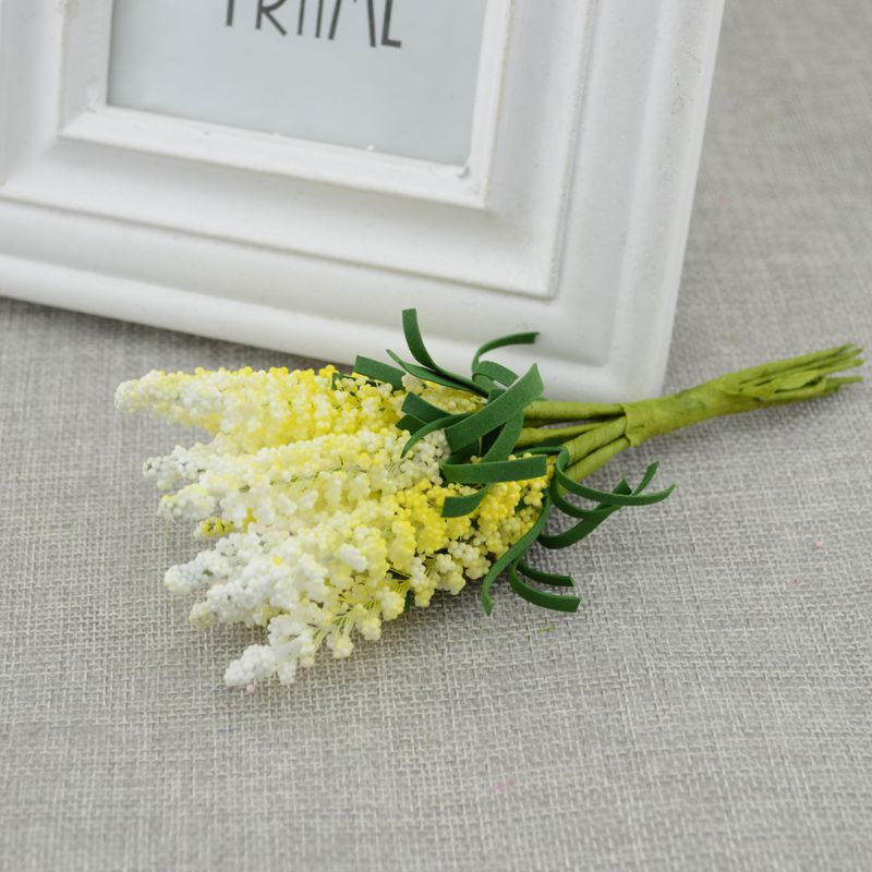 New Mini 10pcs DIY Wreath Material Artificial Flowers For Bride Wrist Flower 3