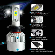 LED Headlights 6500K 72W 8000LM Auto Car Light Lamp
