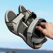 Hot Sale 2019 New Fashion Summer Leisure Beach Men Shoes High Quality Leather Sandals The Big Yards Men's Sandals Size 39-46 все цены