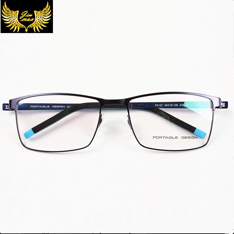 Új érkezés férfiak nők titán ötvözetből készült teljes szemüveg divat férfi minőségi szemüveg szuper könnyű alkalmi optikai keret férfiaknak