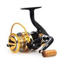 New spinning fishing reels 12BB YB2000-7000 series metal Fishing reel  5.5:1 pre-loading spinning wheel