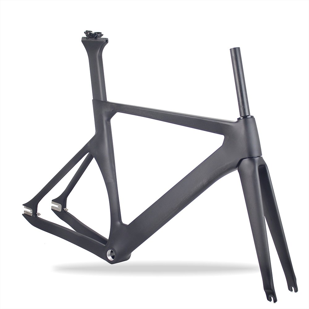 Fixed Gear Carbon Bike Frame Track/Single Speed Frame 48cm 51cm 55cm 57cm