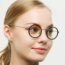 ELECCION Titanium Glasses Frame Men Women Acetate Myopia Optical Ultralight Prescription Eyeglasses Korean Screwless Eyewear screwless eyewear prescription eyeglasses women ultralight 2019 round myopia optical denmark korean glasses frame men titanium