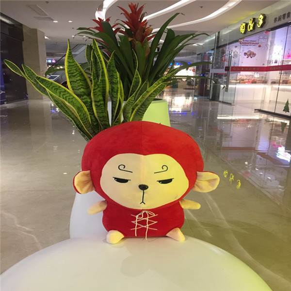 17cm Lovely Cartoon Flower Travel Monkey INS Doll Baby Korean Comforting Sofa Gift Toys Plush Bunny Sleeping Stuffed Plush Toy 4styles mask hero doll cartoon baby kids plush toys comforting sofa xmas gift action figure bunny cushion film transfiguration