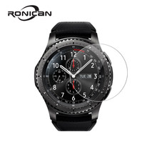 RONICAN For Samsung Gear S3 Classic Tempered Glass Ultra Cltra 9H For Samsung Gear S3 Frontier Smartwatch Film Screen Protector(China)