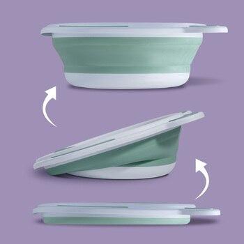 SUNVENO детская ванночка для новорожденных портативный умывальник детская ванночка складной детский умывальник для мытья лица ванны для ног