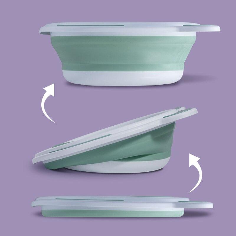 Sunveno Baby Tub Newborn Portable Washbasin Baby Bath Tub Folding