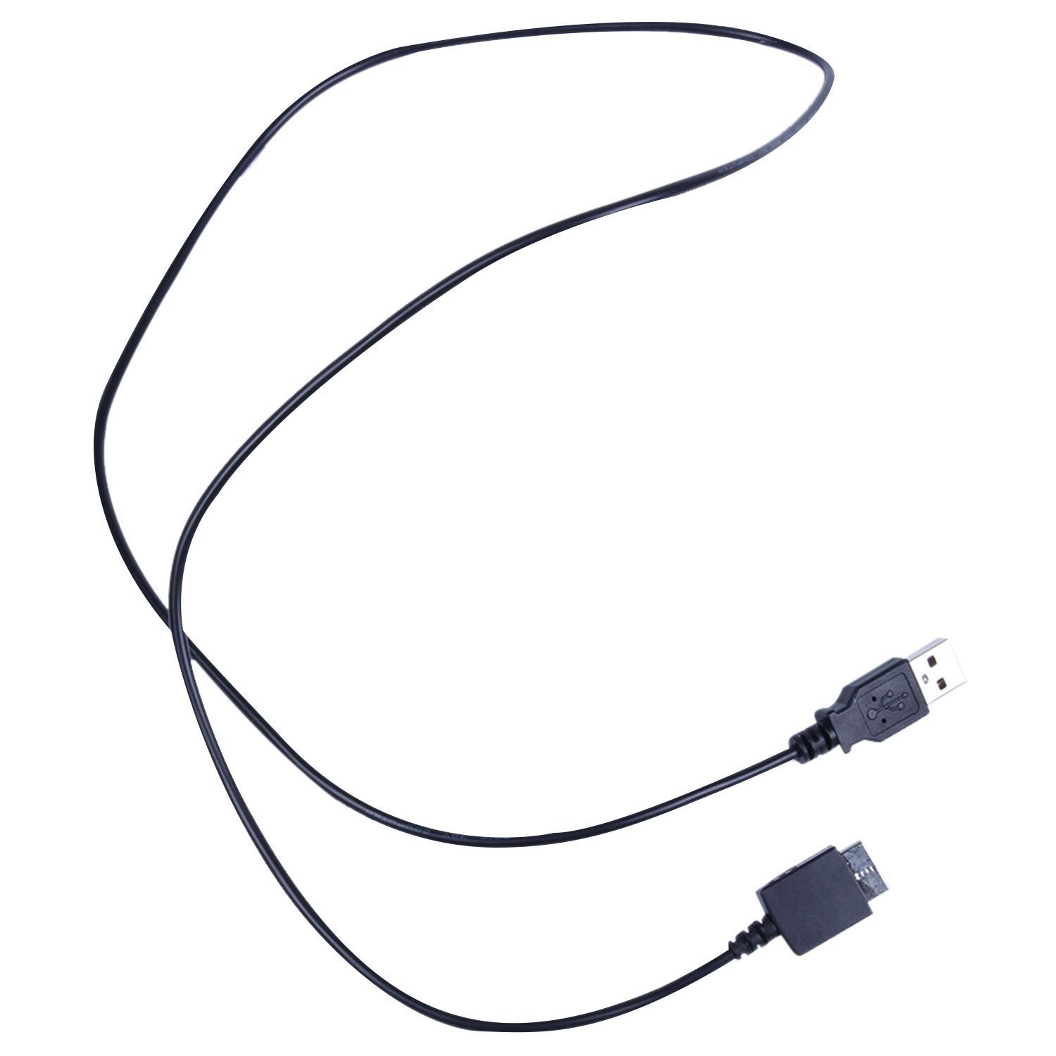 HFES New USB data charging cable cord Sony Walkman E052 A844 A845 MP3 MP4 player black