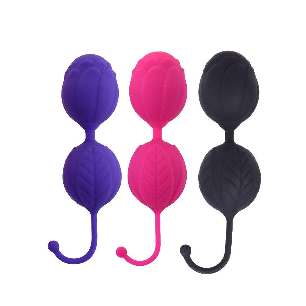 Силиконовые вагины мяч для женщин влагалище Tigthen Упражнение устройства шары Кегеля, чтобы сделать женский вагинальный мышцы туго массажер секс-игрушки