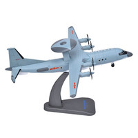 1/100 Scale Military Model Toys KongJing KJ 500 AEW Airborne Warning Aircraft Diecast Metal Plane Model Toy For Collection,Gift