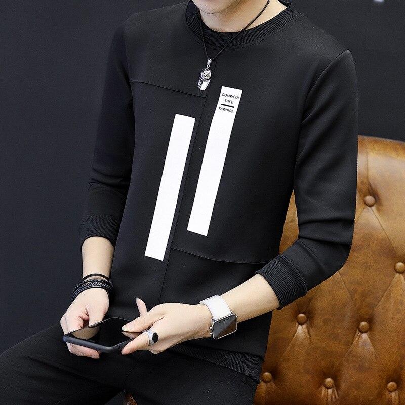 2018 Для мужчин рубашка с длинными рукавами Топ Гар Для мужчин t YM01