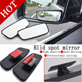 high quality 2PCS/lot New Blind Spot Mirror Set For All Universal Vehicles Car truck  Accessories Decoration Free Shipping