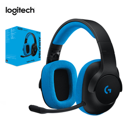 Logitech G233 Gaming Headphone Conpatible with PC PS4 Xbox One Smartphones and Pads Wired Control Headset for All Gamers