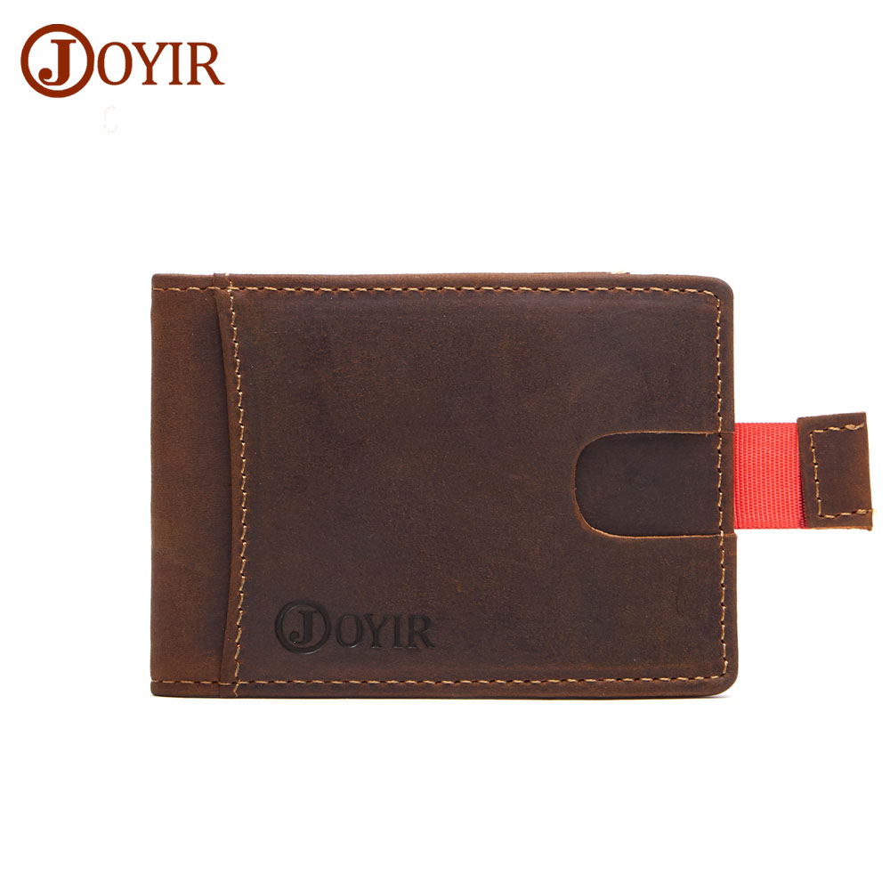 JOYIR Genuine Leather Card Holder Slim ANTITHEFT RFID Wallet Small ...