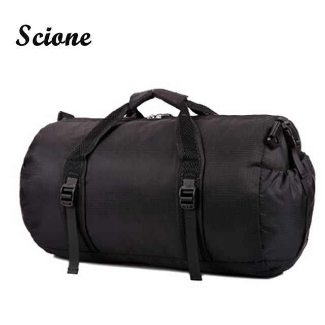2017 new fashion Waterproof Handbag, Brand Multi-functional travel bags Brand men's travel bags collapsible bag foldable P159