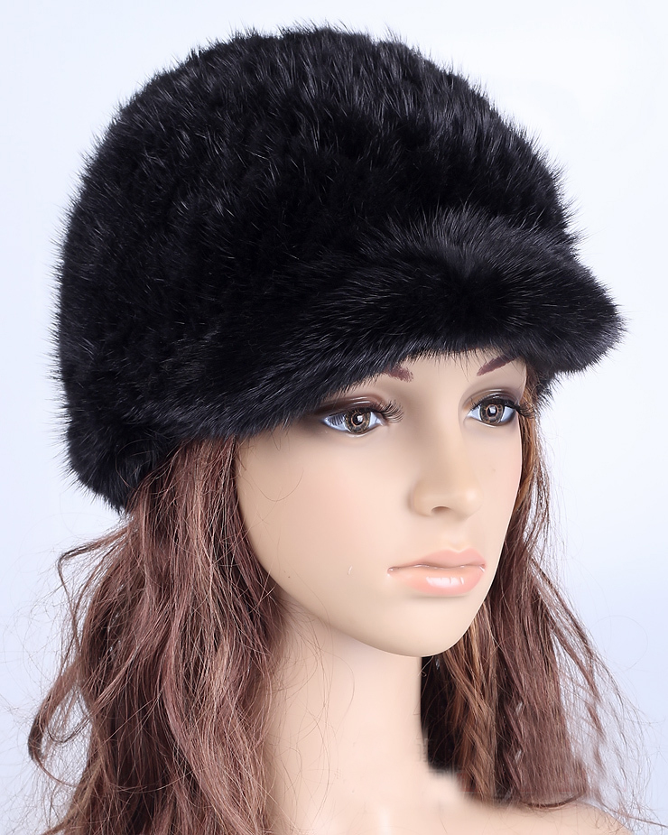 2017 Inverno Cappello Caldo Capelli Cappello Visone Qualità Cappello Di Pelliccia Cappello Di Pelliccia Delle Donne