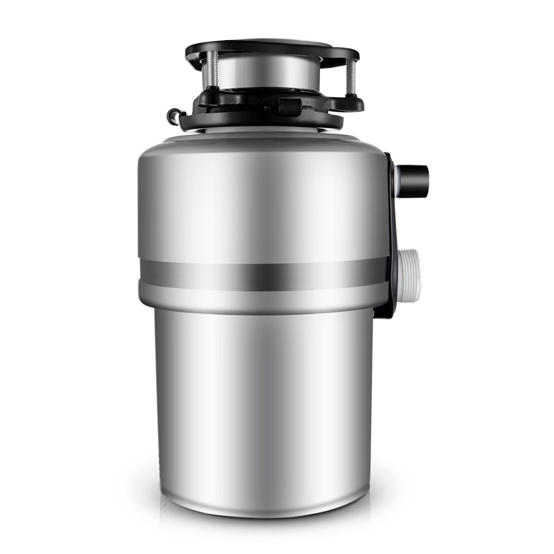 1200ml:  Household Kitchen Food Waste Processor Mute Stainless Steel Cutter Head 1200ml Large Capacity Pulverizer Kitchen Appliances - Martin's & Co