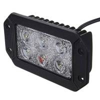 2PCS Waterproof IP68 18W LED Work Light Bar Spotlight Beam Driving Light Car Truck Boat Off