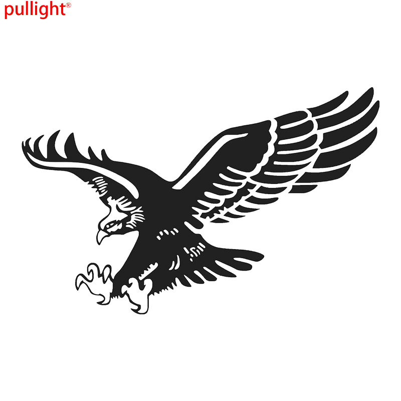 Tribal eagle flying