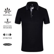 EAGEGOF Мужская тенниска с коротким рукавом и отложным воротником летние рубашки поло дышащая спортивная мужская одежда для гольфа VS descente
