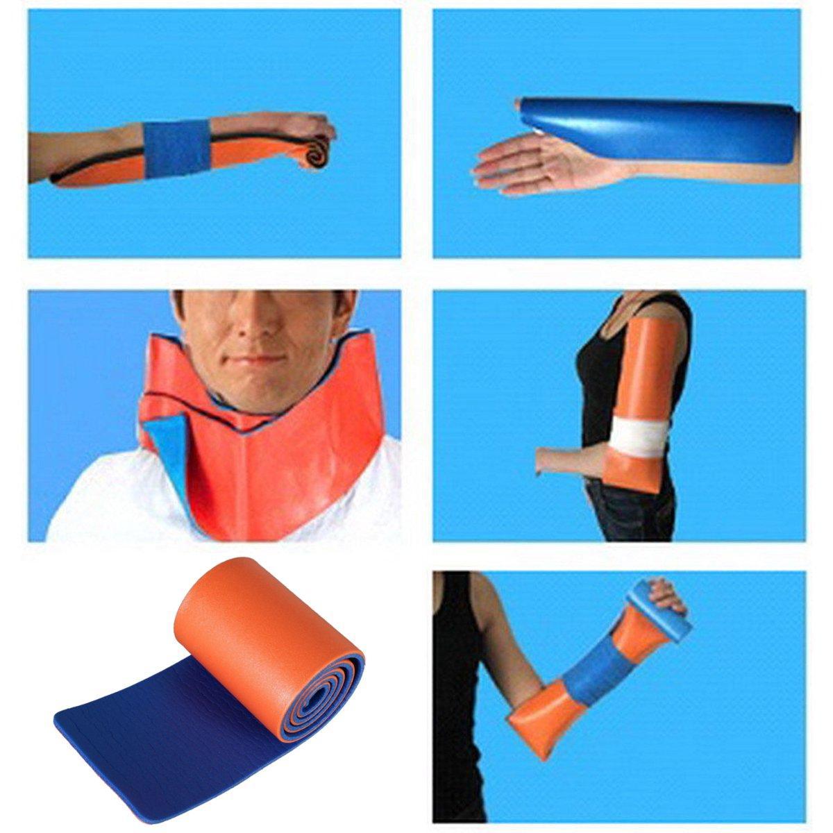 "36/"" Shank Bone Splint not Sam Splint Leg Arm Wrist fixed Fracture Wound Protect"