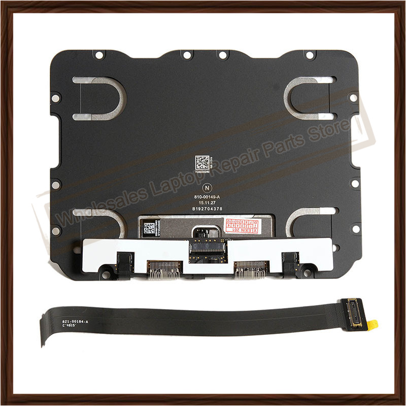New Original A1502 Trackpad Touch Pad with Flex Cable Laptop Parts For Apple Macbook Pro Retina 13'' Replacement 2015 Year new original early 2015 for apple macbook pro 13 a1502 retina trackpad touchpad with cable 810 00149 04 821 00184 a