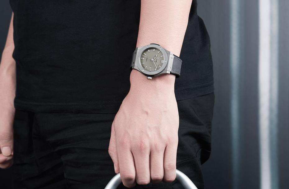 pulseira couro relógio pulso relogio masculino