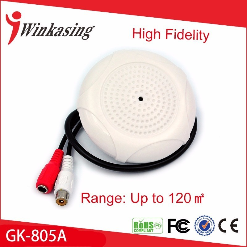 Hot sale high quality  Security sound monitor audio  monitor  cctv  microphone hot sale high quality security sound monitor audio monitor for cctv microphone free shippingyjs