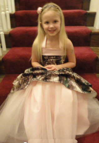 camouflage   girls   kids pageant gowns long camo   flower     girl     dresses