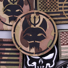 Pulaqi Camo Seal Team Military Velcros Patch On Clothes Embroidery Magic Patches For Clothing Applique Stripes Navy Seals Badges pulaqi camo seal team velcros patch army military magic patch stripes fabric navy seals patches for clothing badges appliques