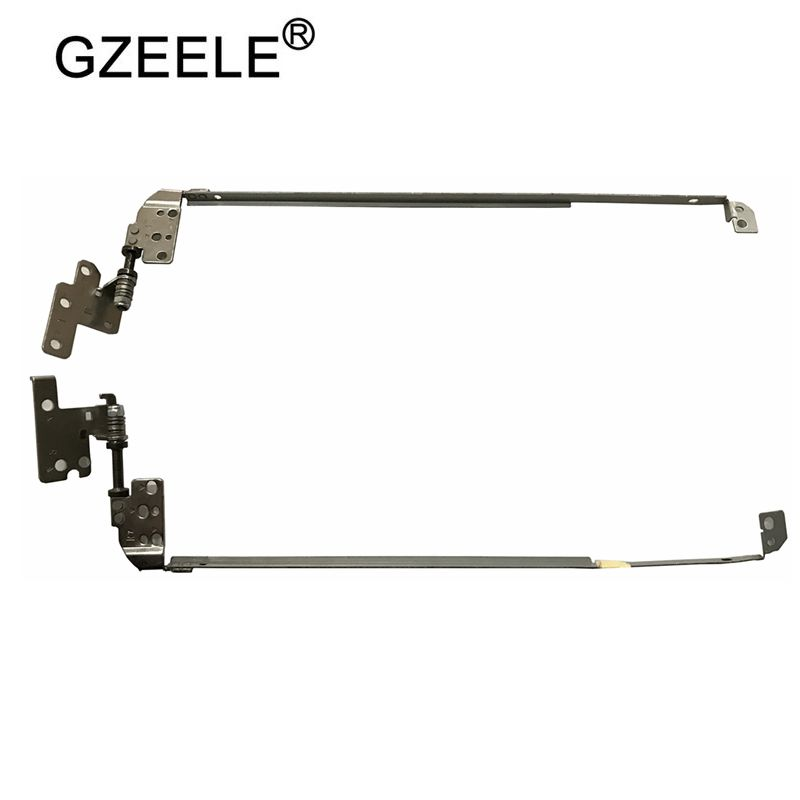 GZEELE New Laptop Lcd Hinge Set For Dell Inspiron 15R N5110 M5110 34.4IE11.002 34.4IE15.002 0CDTYD 0VN266