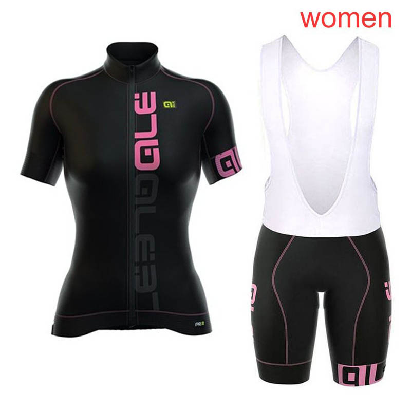Ale Cycling Jersey 2018 Women Summer Breathable Road Bicycle clothes short sleeve Quick-dry MTB Bike Jersey Cycling Clothing C08