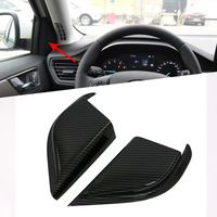 For Ford Focus Sedan/Hatchback 2019 2020 Front Door Interior Triangle Cover Trim Car Styling Accessories Car Parts