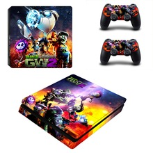 Plants vs Zombie PVZ PS4 Slim Skin Sticker