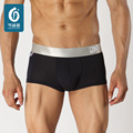 Hombre Ropa Interior boxers Antibacterial Fibra de Bambú Masculina Calzoncillos Saludables hombres Boxer Shorts Hombre Cueca Bragas Elásticos U-convexa