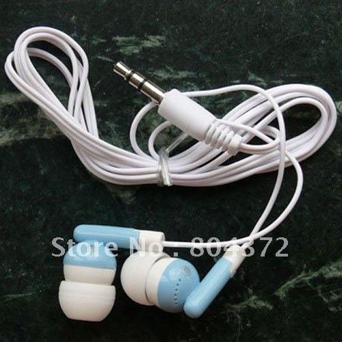 kecesic Wholesale 100pc lot 3 5mm In ear earphones headphones headsets for Mp3 MP4 MP5 PSP