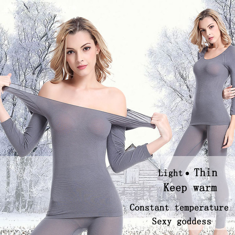 Popular Silk Thermal Underwear Women-Buy Cheap Silk Thermal ...
