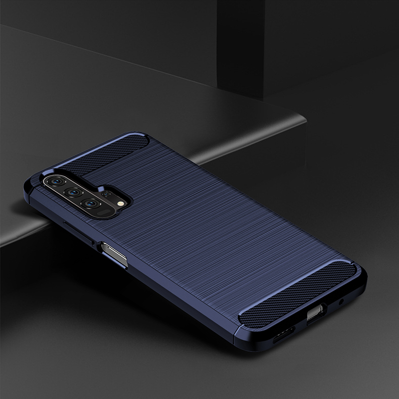 For Huawei Honor 20 Lite Case Silicone Rugged Armor Soft Back Cover Case For Huawei Honor 20 Pro Phone Fundas Coque Cases