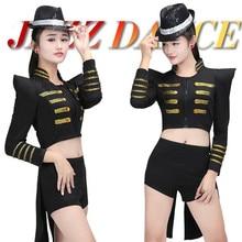 tuxedo swallow-tailed coat cutaways tails tailcoat long Dress Costume nightclub bar singer DJ female sexy singer dancer star