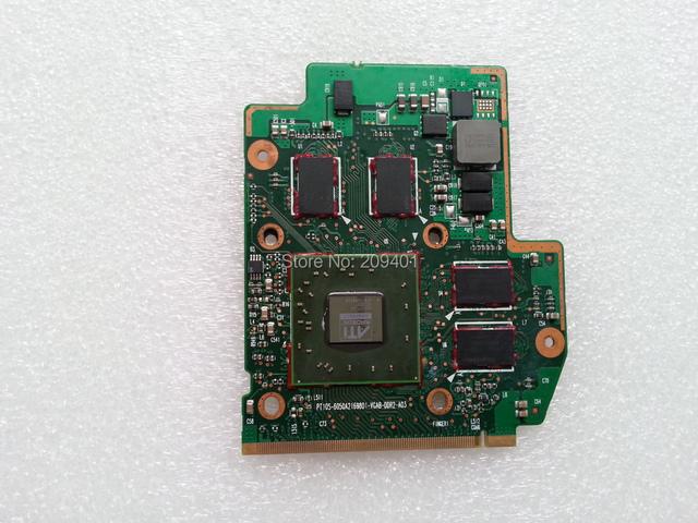 512 m ati placa de vídeo placa de vídeo para toshiba a300 a305 laptop frete grátis por hk post