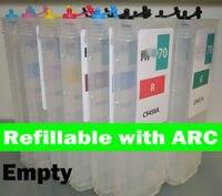 Vazio cartucho recarregável compatível para HP Z3100 12 HP70 com Arcos|cartridge for hp|cartridge empty|cartridge hp -