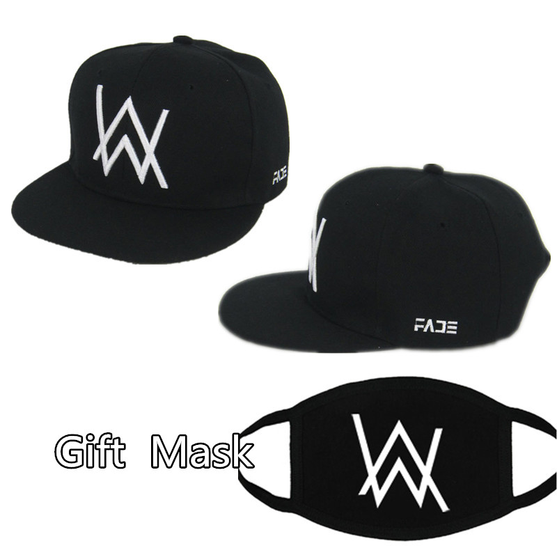 DJ Alan Walker Cosplay Costumes Hats Adjustable Black Cap With Gift Mask-in Boys Costume Accessories from Novelty & Special Use on Aliexpress.com | Alibaba Group