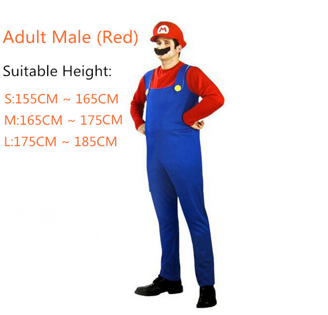 Adlut-kids-Super-Mario-Luigi-Brothers-Unisex-Cosplay-Costume-Hats-Mustache-Funny-Clothing-Fancy-Dress-Jumpsuits.jpg_640x640 (5)