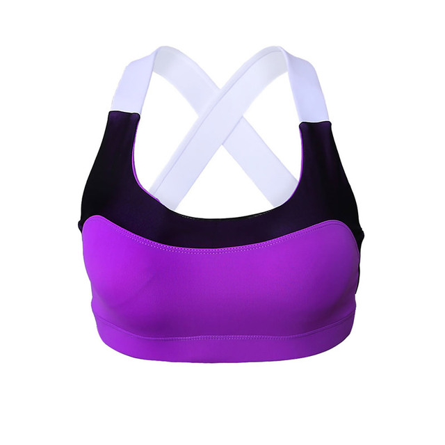 Women Bra Padded Wire free Shakeproof Push Up Seamless Fitness Top Bras For Woman Summer Style