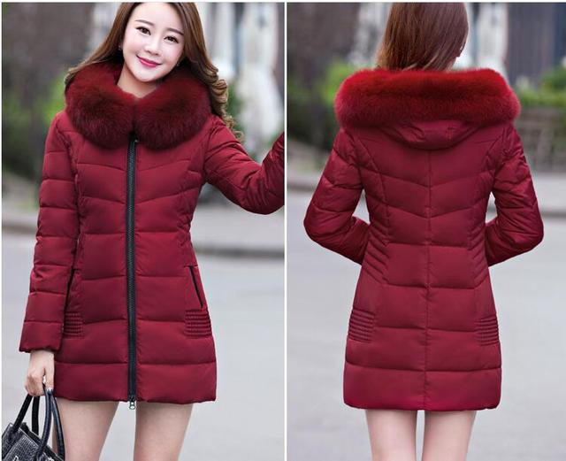 011502 2108 new winter down jacket puffer coat parka  windproof Female outwear