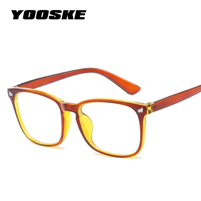 YOOSKE Unisex Blue Light Blocking Glasses Women Oversized Filter Reduces Blue Light Glasses for Men Computer Goggles Eyeglasses blue light blocking glasses